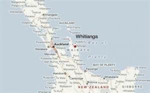 Whitianga map